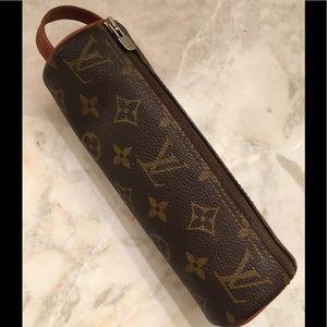 Louis Vuitton Monogram Trousse Ronde 20 Case